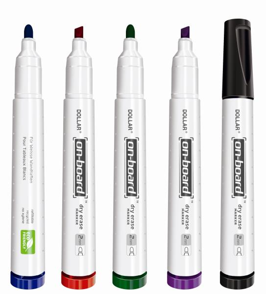 On-board Whiteboard Marker Refillable