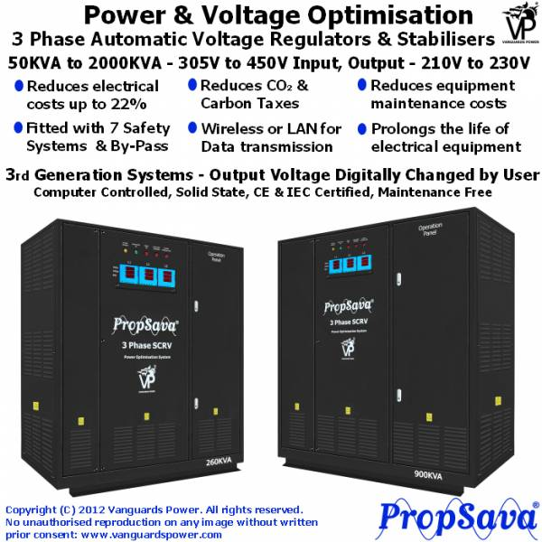 3 Phase Power Optimisation System PropSava
