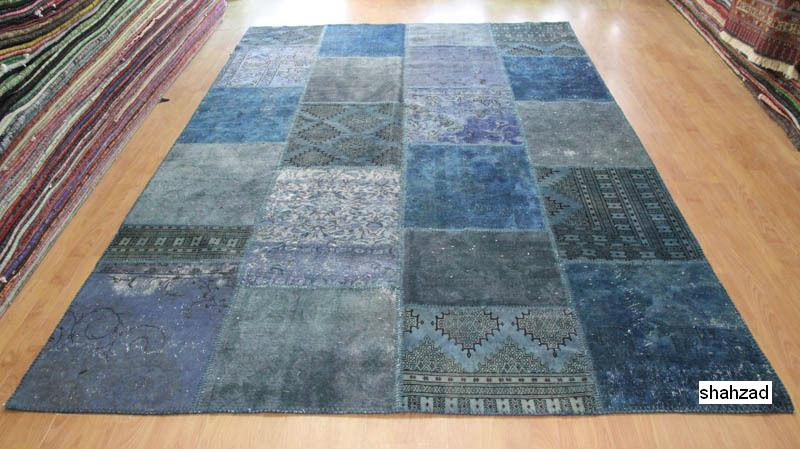 Patchwork Rugs in Pakistan