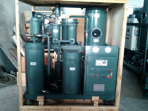Waste hydraulic oil purification/lube oil filtration system