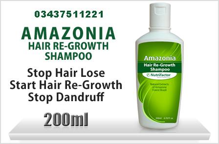 AMAZONIA HAIR RE- GROWTH SHAMPOO 03437511221