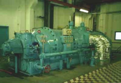 16 MW Stal Laval Back Pressure Steam Turbine