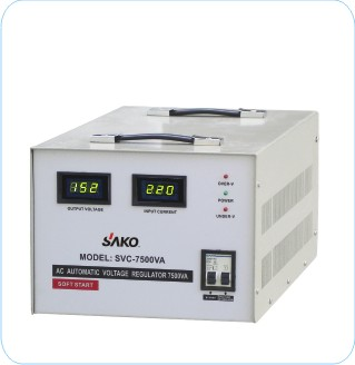 SVC Single Phase Servo Motor type Automatic Voltage Stabilizers 500VA to 30KVA