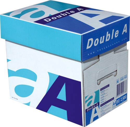 Double A A4 Copy Paper 80gsm 210mm x 297mm,