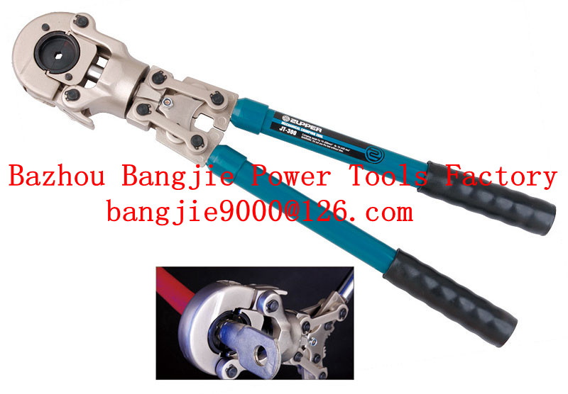 Mechanial crimping tool With telescopic handles