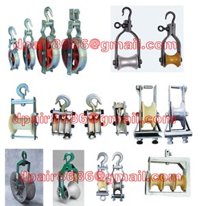 Cable Puller Hook Sheave Pulley&Cable Block