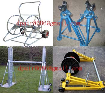 Ground-Cable Laying & Mechanical Drum Jacks