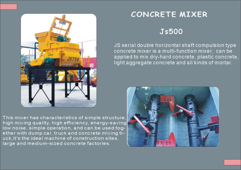 Movable concrete mixing plant YHZS25