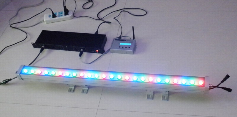 RGB LED wall washer lighting 24*1W