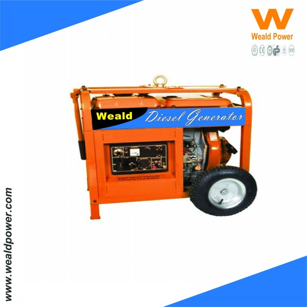 Fuzhou WEALD Portable Gasoline Engine Generator