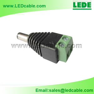 DC plug with Screw Mount, DC adapter