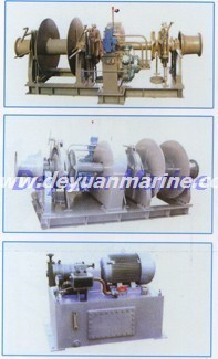 68KN  Electric anchor windlass and mooring winch