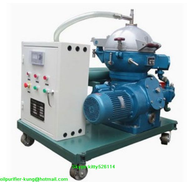 CYA Centrifugal Vacuum Oil Purifier/oil filtration/ oil purification