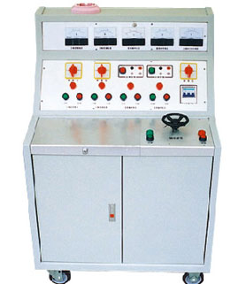 High-voltage power low-voltage switchgear test bed