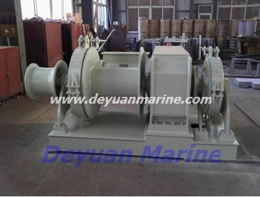 34KN  Hydraulic anchor windlass and mooring winch