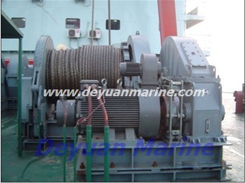 62KN Hydraulic anchor windlass and mooring winch