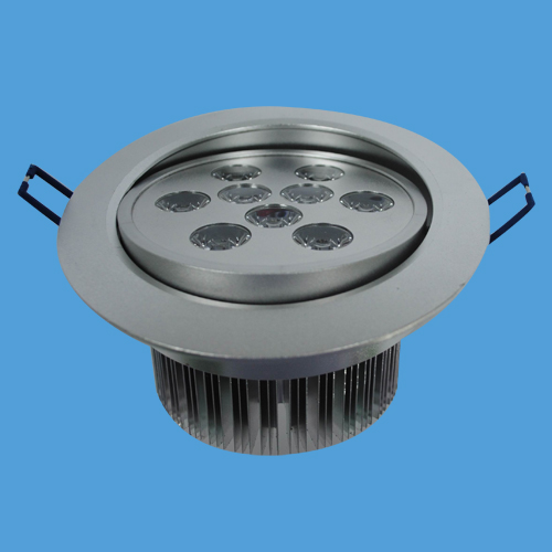 9*1W High Power LED Downlight 810lm CE and RoHS