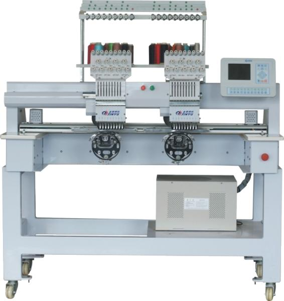 double heads cap embroidery machine