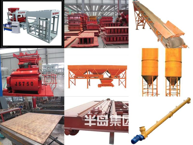 large full automatic hydraulic brick production line,no need clay,no fired