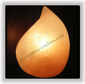 Salt Flame Lamp