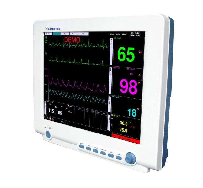 Patient . cardiac monitor