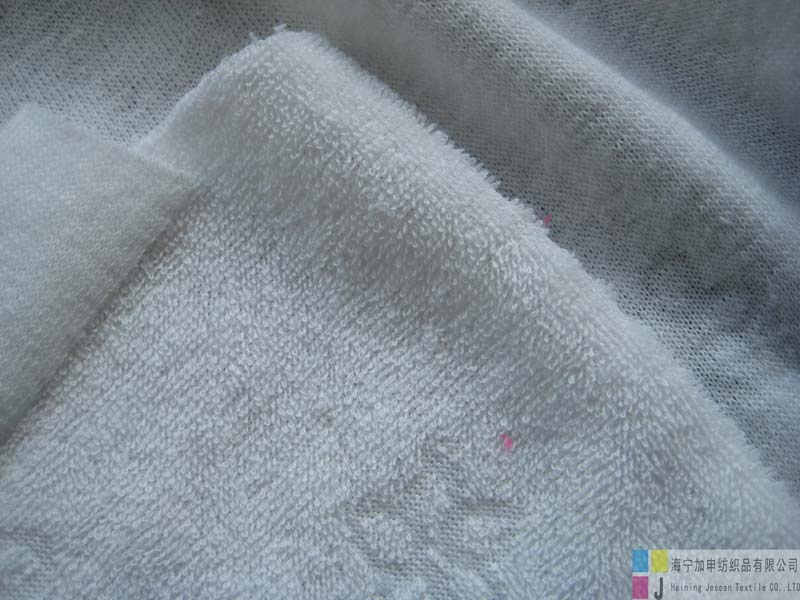 100%polyester knitted terry fabric