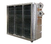 SS Steam Finned Tube Heat Exchanger