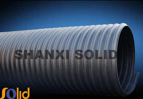 HDPE pipe/HDPE double wall corrugated pipe for sewage