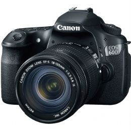 Canon EOS-60D with EF-S 18-200mm Lens