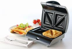 Kenwood 2 Slice Silver Sandwich Maker SM435