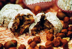 Hazelnut pastries