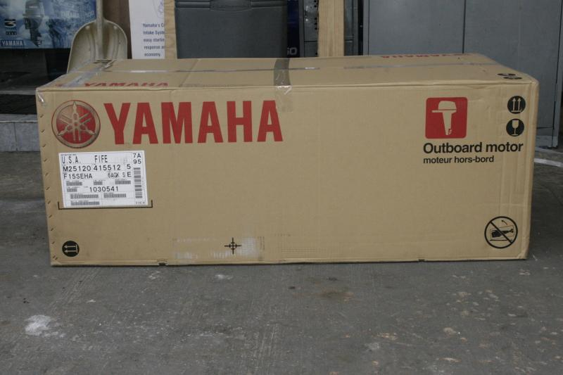 NEW F2OSMHA YAMAHA OUTBOARD, 4 STROKE,MANUAL START,15 INCH SHAFT,TILLER HANDLE